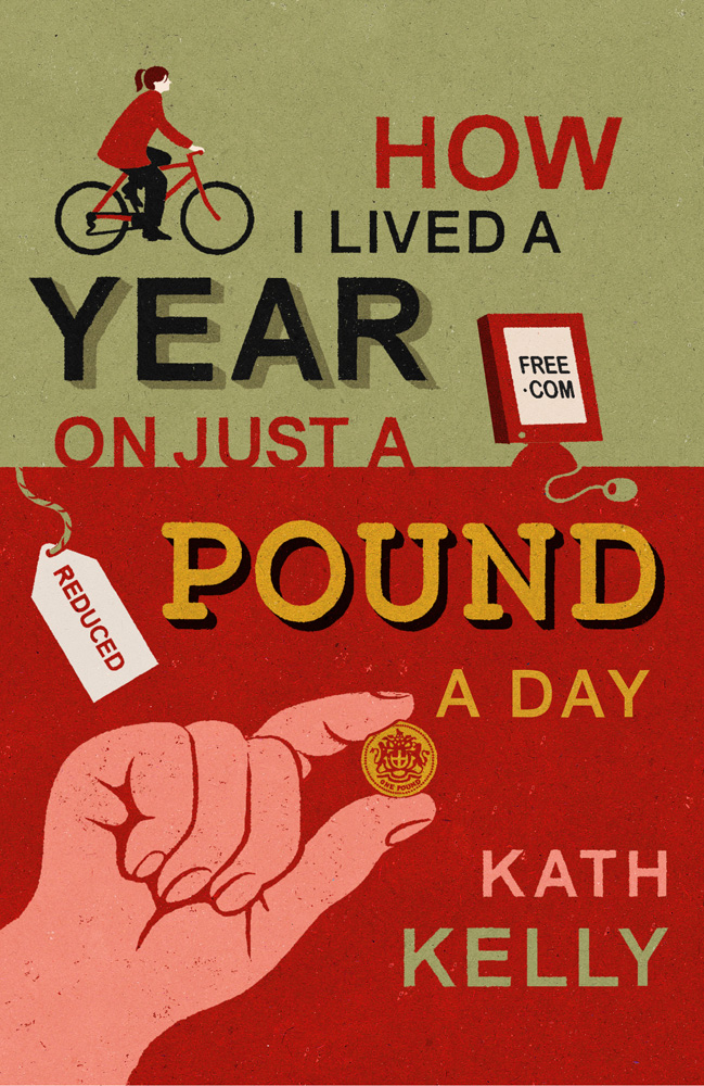 Book cover illustration by John Holcroft of a book about budgeting costs