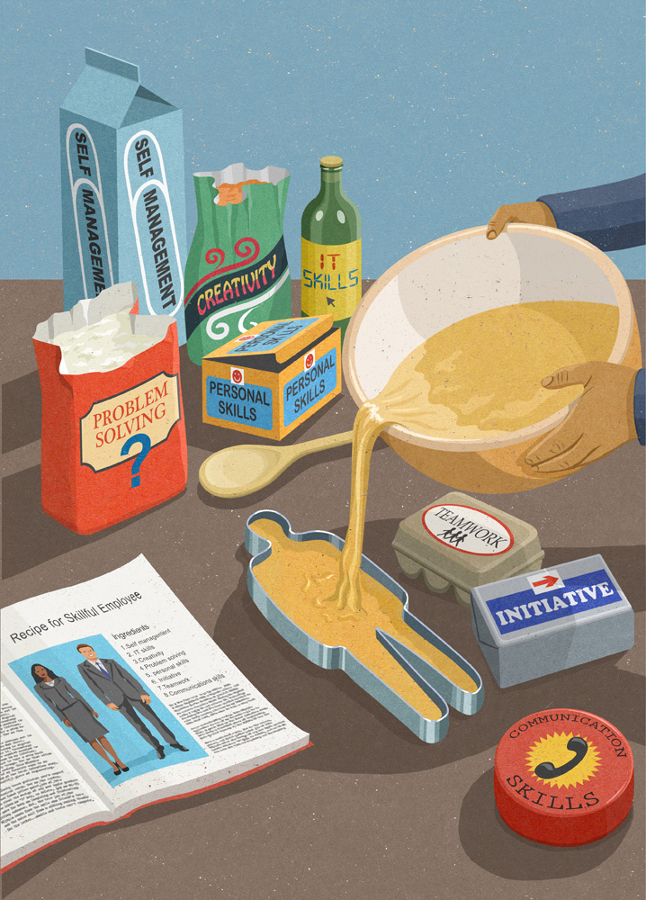 skills ingredients for a successful employee (johnholcroft.com)