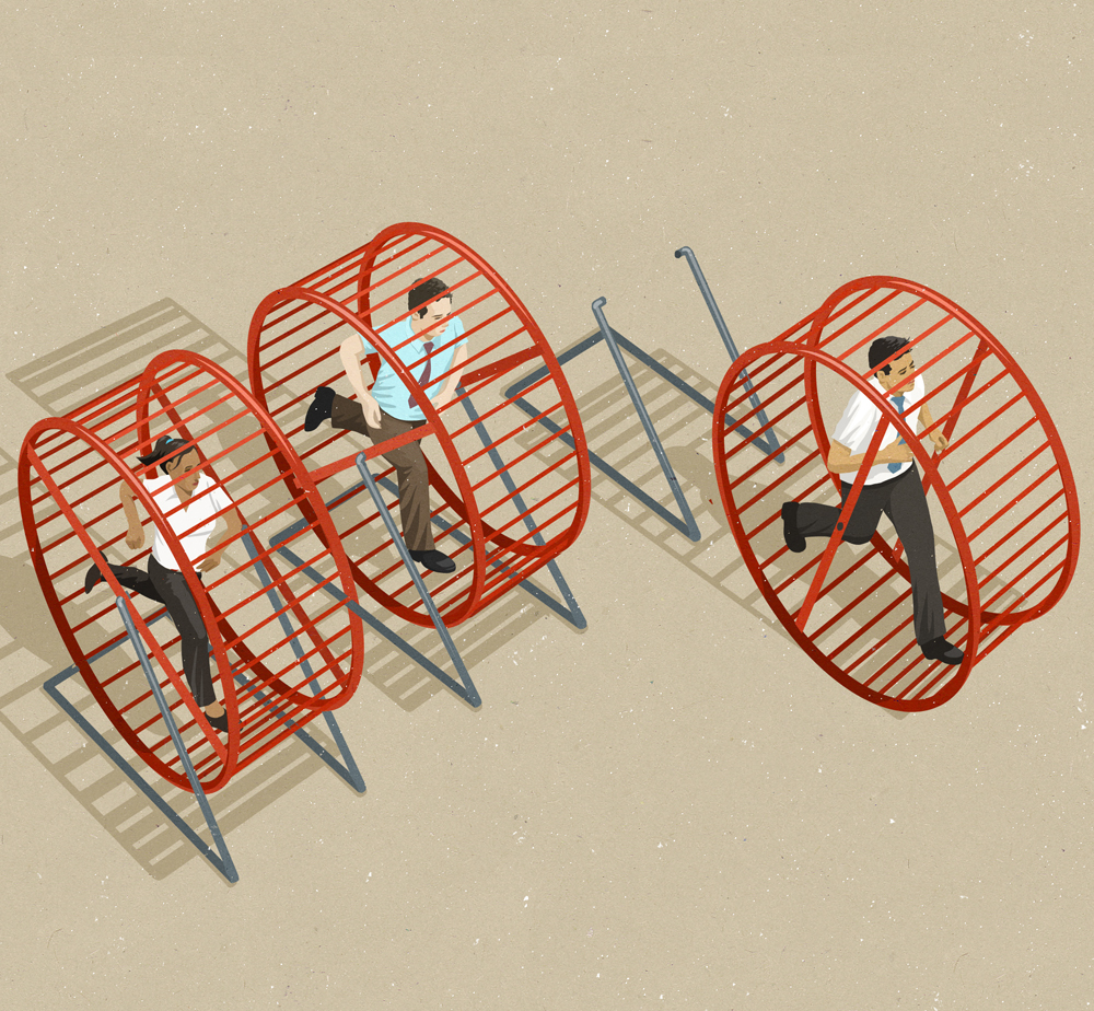 Breaking free from the crowd and innovating (johnholcroft.com)