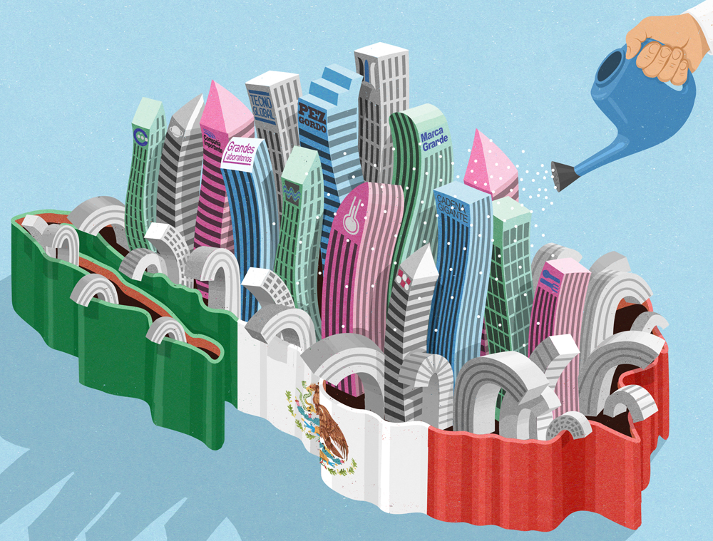 Mexico economy in recession apart from major companies (johnholcroft.com)