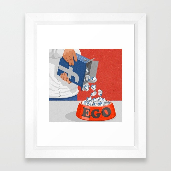 Art print by John Holcroft conceptual illustrator, this can be purchased from society6.com along with many others.